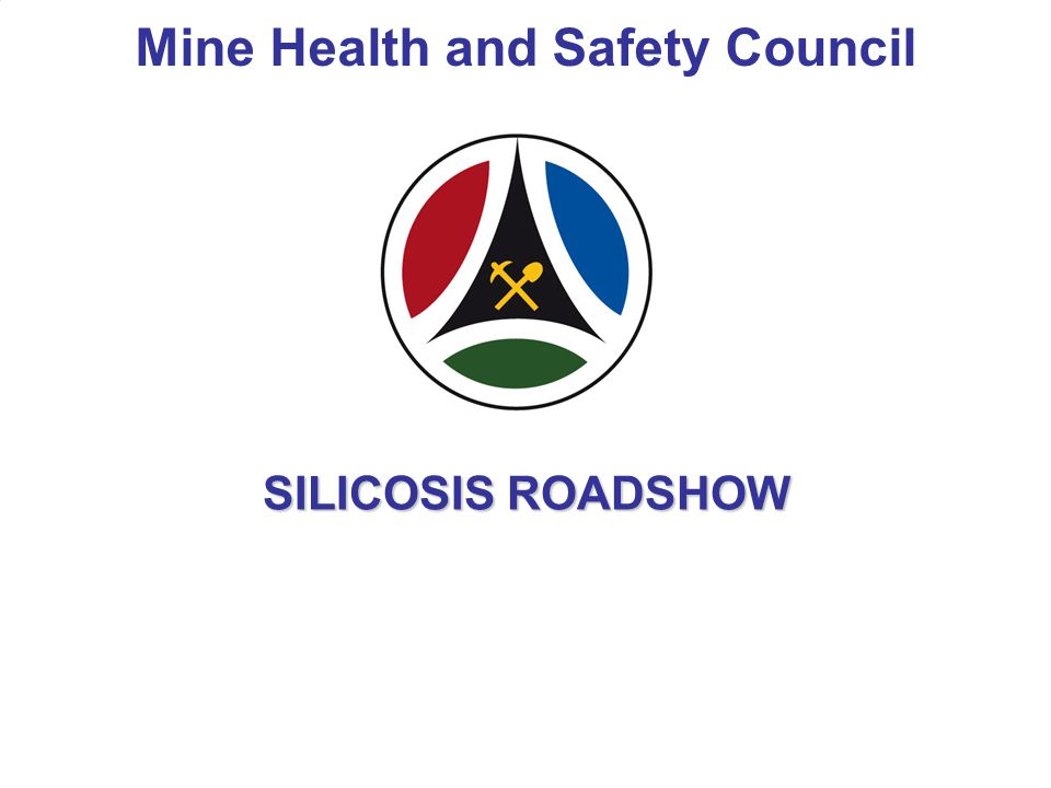2 Silicosis Roadshow Silicosis Road show was approved by MHSC on 28 th January 2009.