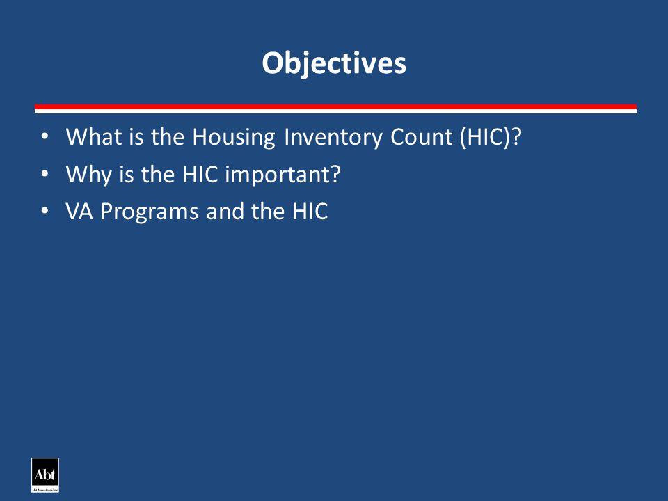 VA Programs and the HIC