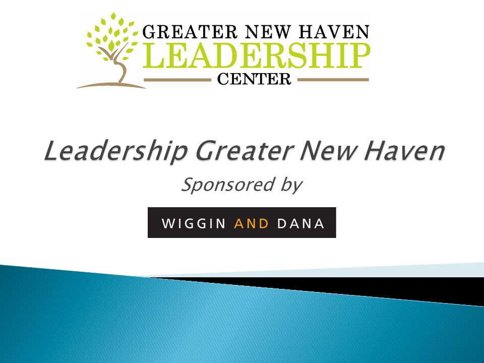 To educate aspiring leaders and support their growth through leadership training and community education so that they may serve as catalysts for change in the Greater New Haven community.