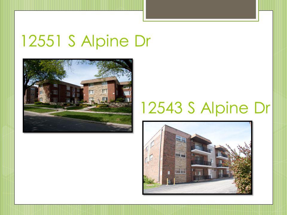 12551 S Alpine Dr 12543 S Alpine Dr