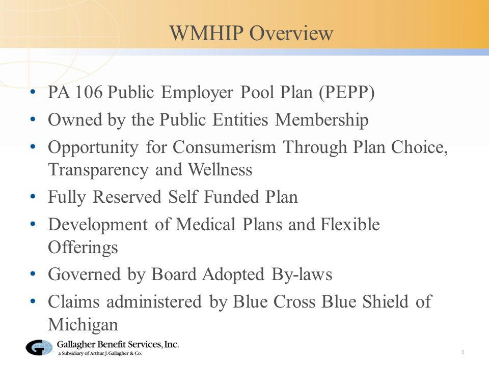 How Will The Change To WMHIP Impact You.