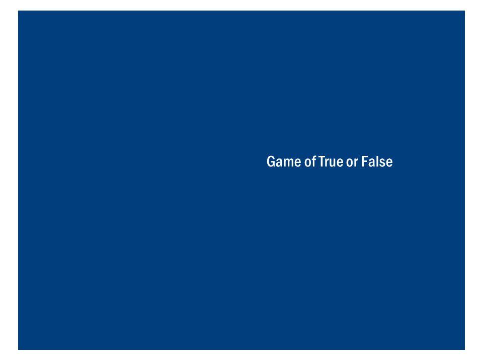 Game of True or False