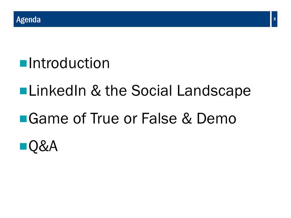 LinkedIn & the Social Landscape