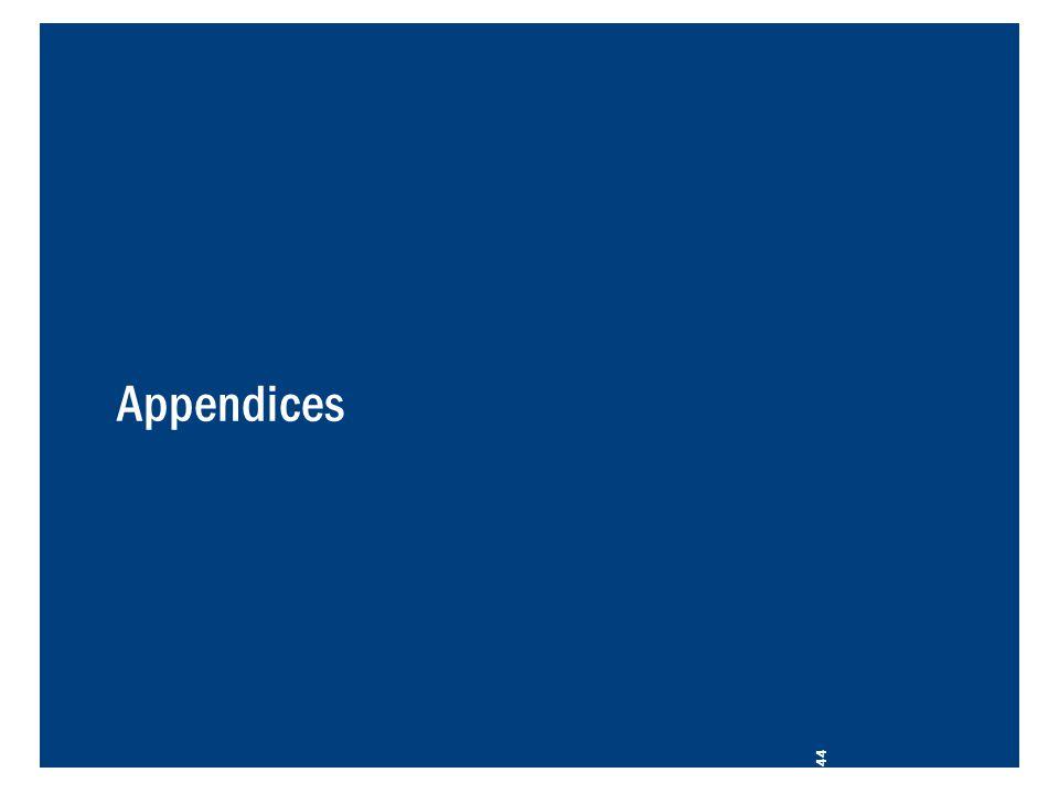 Appendices 44