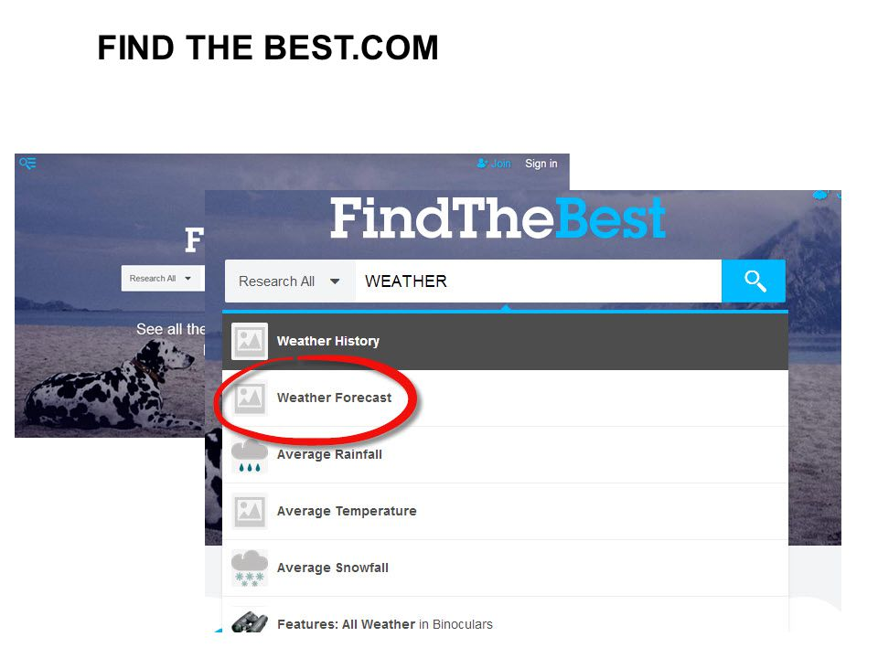FIND THE BEST.COM