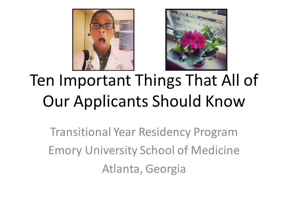 Thank you for your interest in Emory.