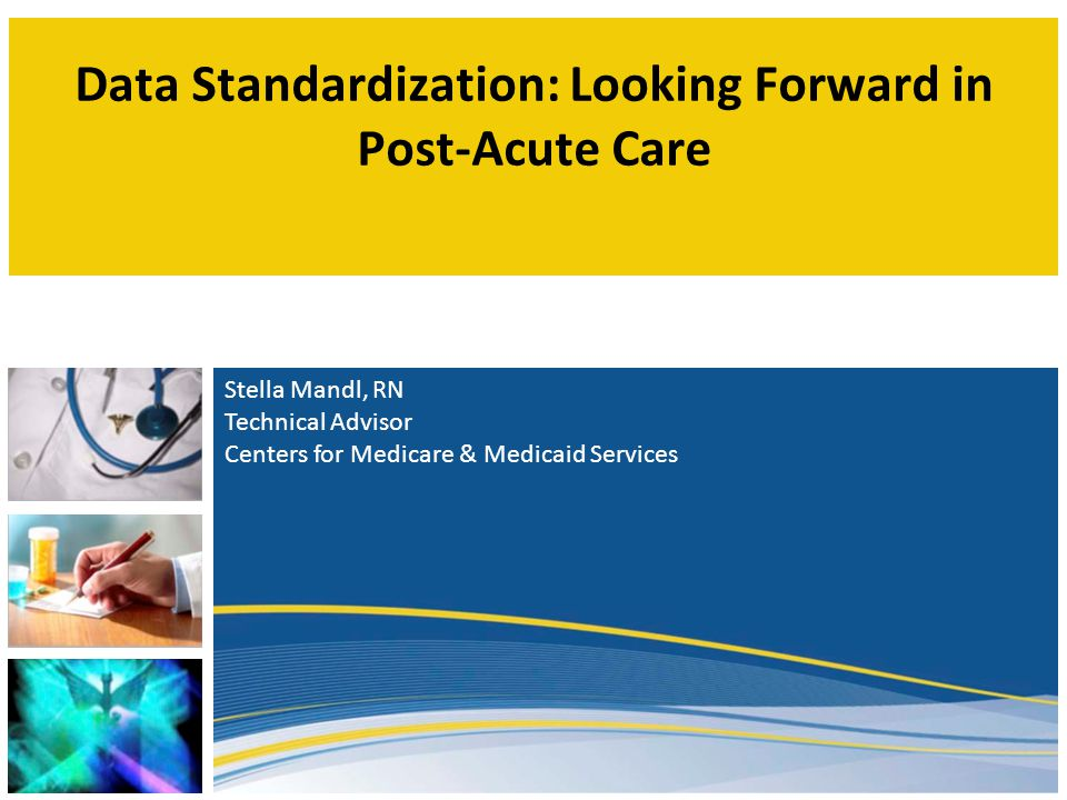 As Is To Be As Is: Multiple Incompatible Data Sources Uniform Data Elements Across Providers Standardized Nationally Vetted Nursing Homes MDS Home Health Agencies OASIS Inpatient Rehab Facilities IRF-PAI Hospitals No Standard Data Set Physicians No Standard Data Set LTCHS LTCH CARE Data Set Outpatient Settings No Standard Data Set To Be: Uniform Assessment Data Elements Enable Use/re-use of Data  Exchange Patient-Centered Health Info  Promote High Quality Care  Support Care Transitions  Reduce Burden  Expand QM Automation  Support Survey & Certification Process  Generate CMS Payment GOAL: Transition 2