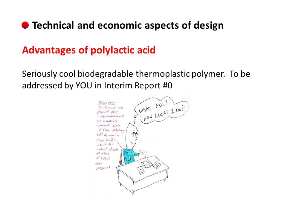 Direct polymerization of lactic acid.Um… NO.
