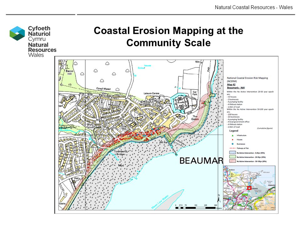 Coastal Erosion Mapping at the Community Scale Natural Coastal Resources - Wales