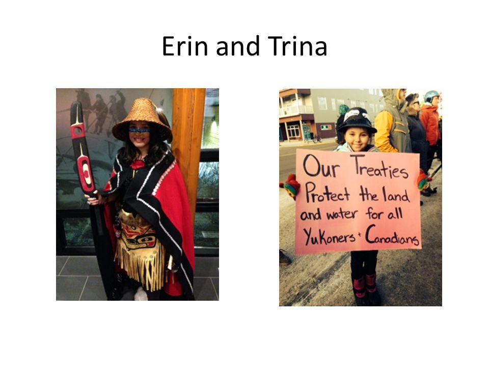 Erin and Trina
