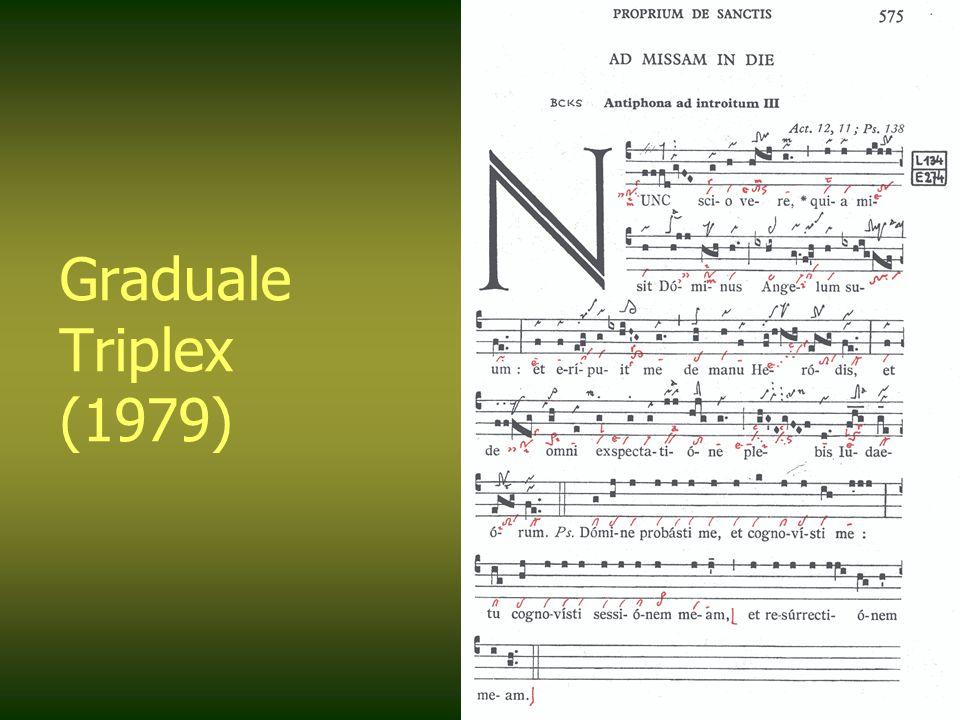 Graduale Triplex (1979)