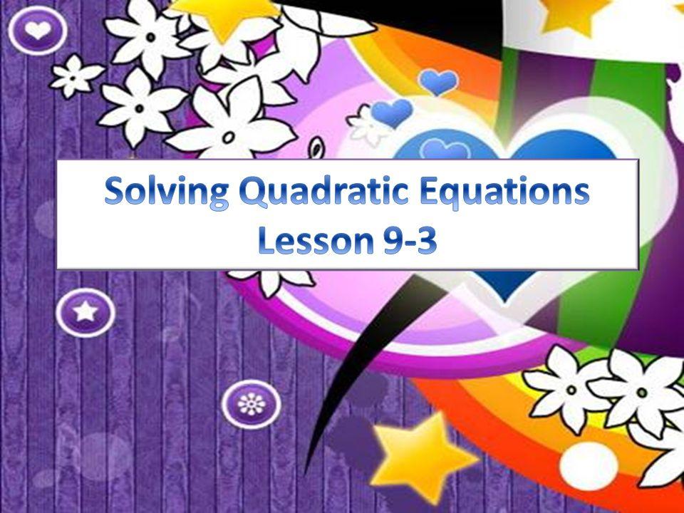 x 2 + 8x – 20 = 0 (multiply both sides by 8) a = 1, b = 8, c =  20 Solve x 2 + x – = 0 by the quadratic formula.