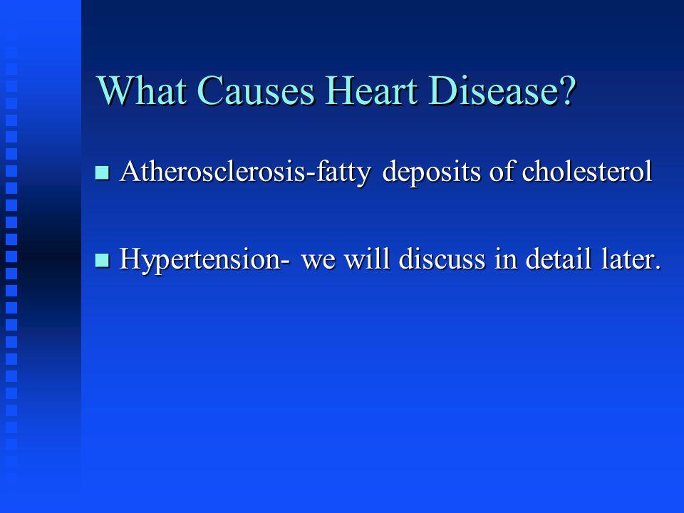 Changeable Risk Factors n Hypertension n Serum cholesterol n Obesity n Diabetes Mellitus n Physical Inactivity n Cigarette Smoking n Alcohol Intake