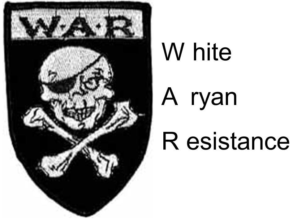 W hite A ryan R esistance