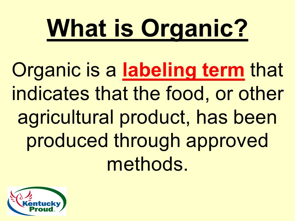 What is Organic Certification.