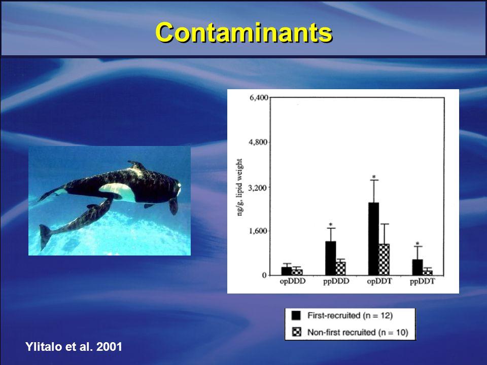 Ylitalo et al. 2001 Contaminants