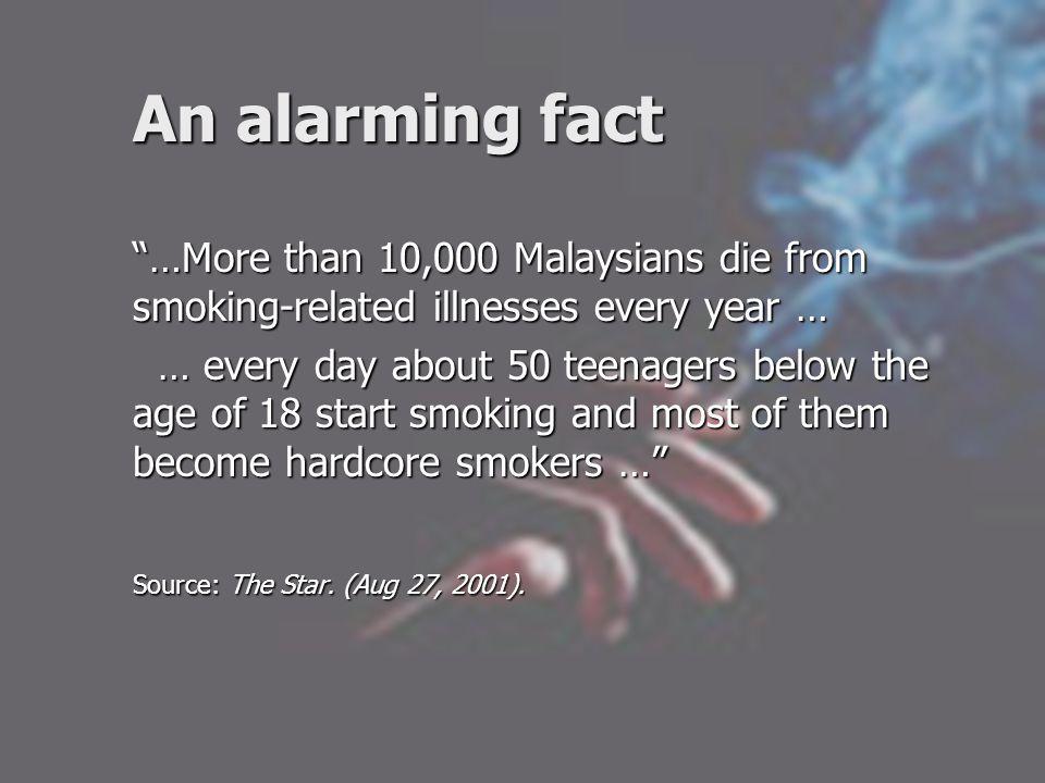 Why did he start smoking.
