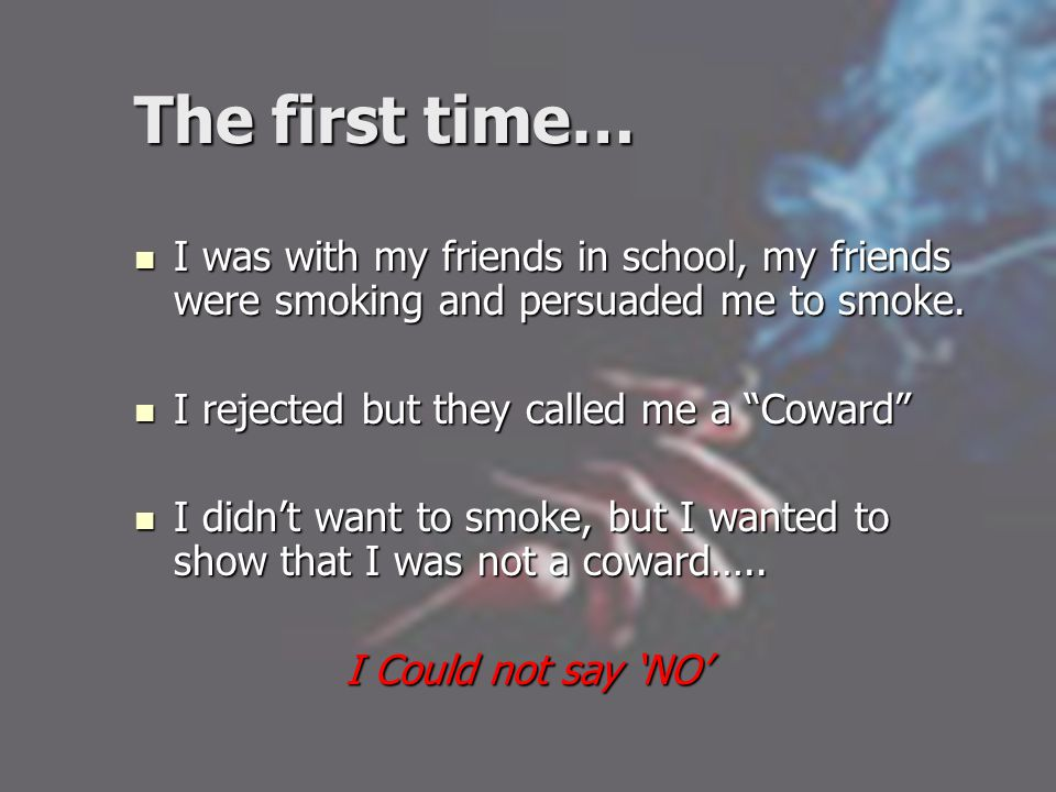 How can we help to reduce smoking in the community.