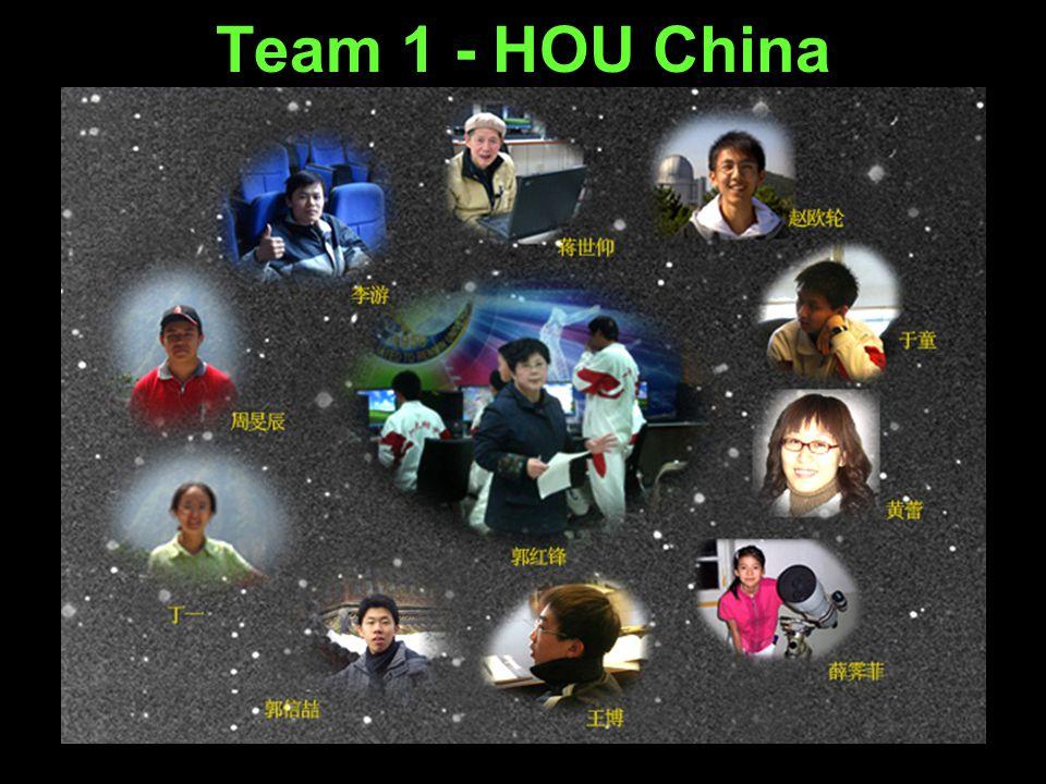 Team 1 - HOU China