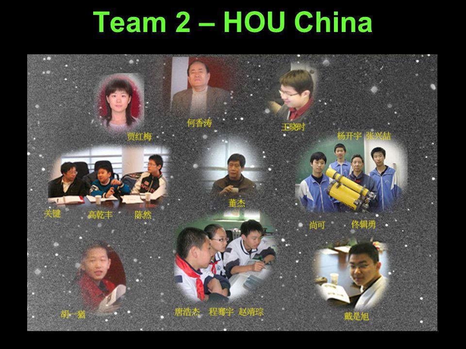 Team 2 – HOU China