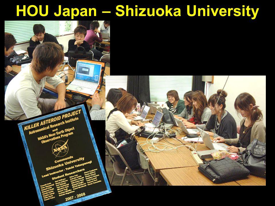 HOU Japan – Shizuoka University