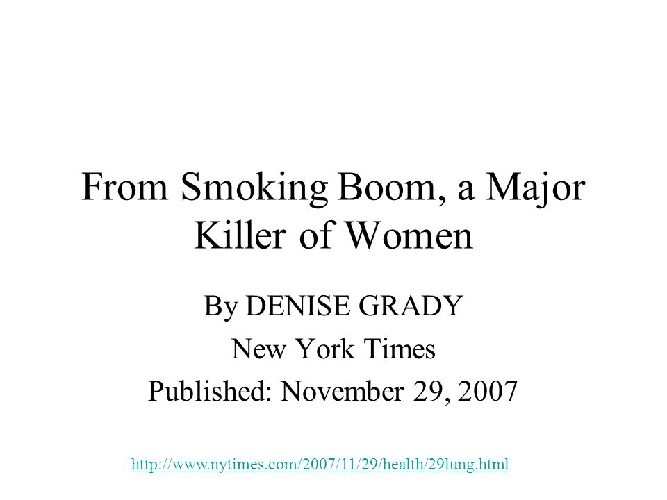 Impacts of Smoking For Jean Rommes, the crisis came five years ago, on a Monday morning when she had planned to go to work but wound up in the hospital, barely able to breathe.