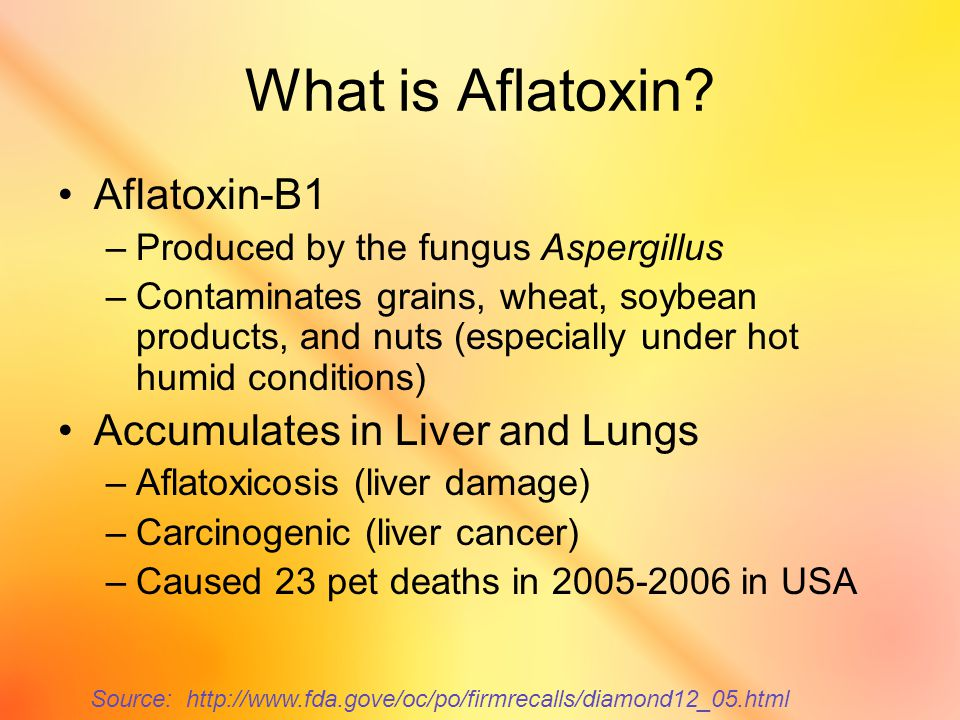 What is Aflatoxin.