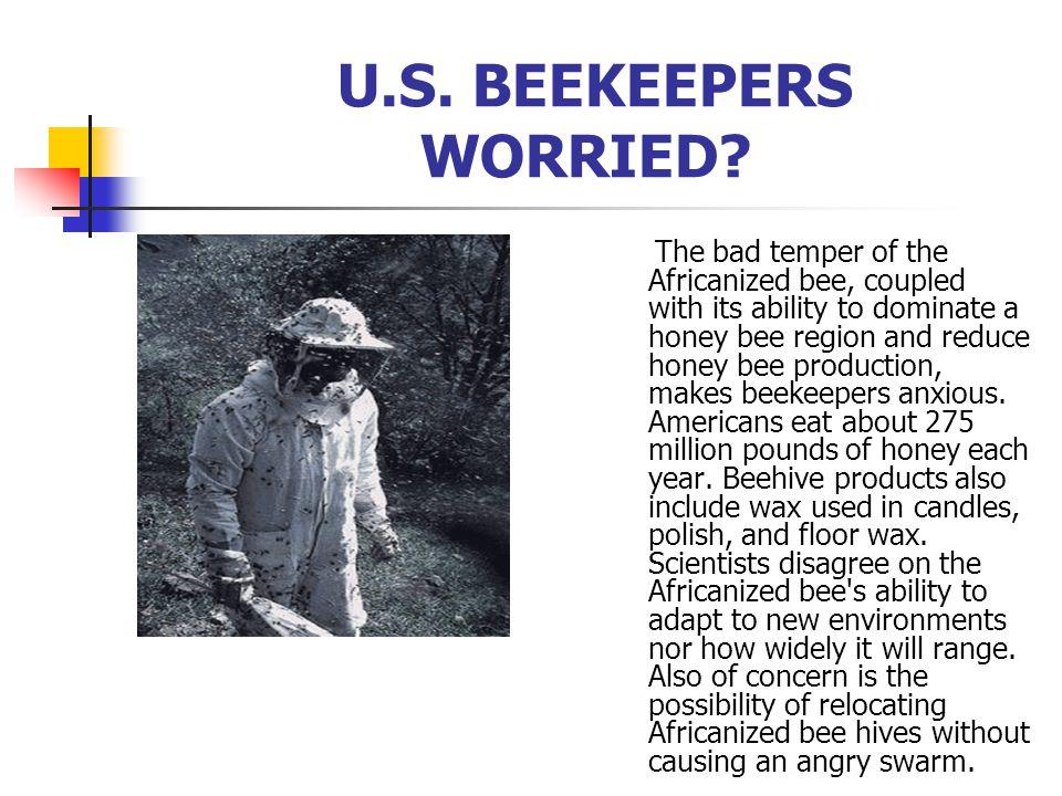 U.S. BEEKEEPERS WORRIED.