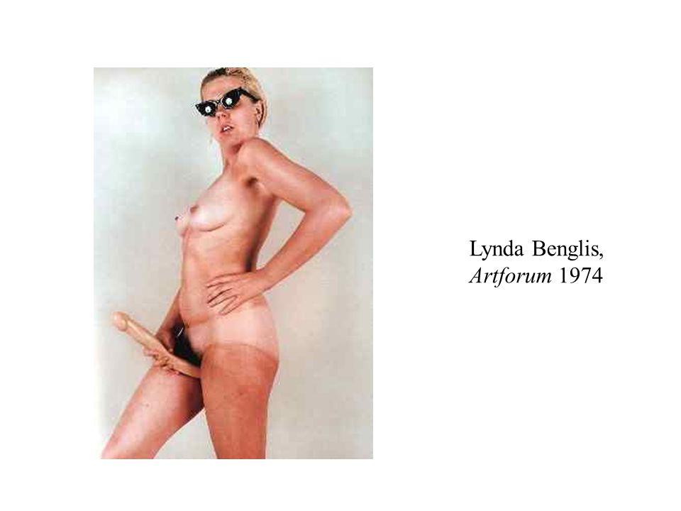 Lynda Benglis, Artforum 1974