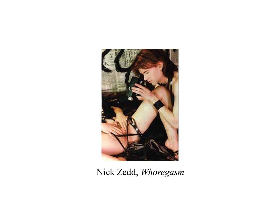 Nick Zedd, Whoregasm