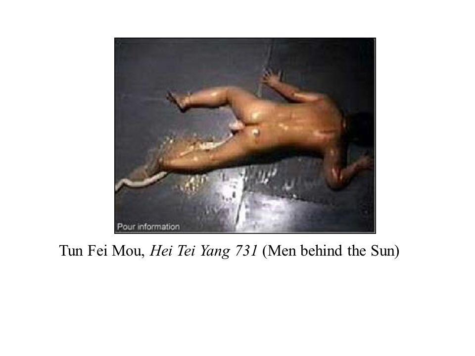 Tun Fei Mou, Hei Tei Yang 731 (Men behind the Sun)