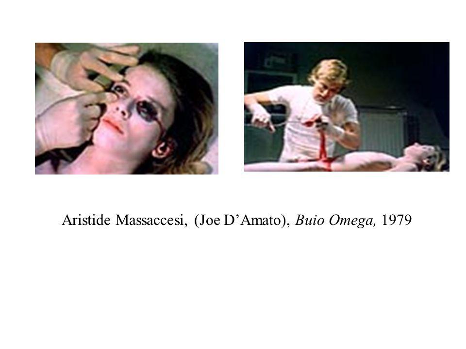 Aristide Massaccesi, (Joe D'Amato), Buio Omega, 1979
