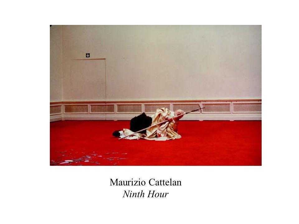 Maurizio Cattelan Ninth Hour