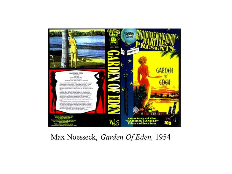Max Noesseck, Garden Of Eden, 1954