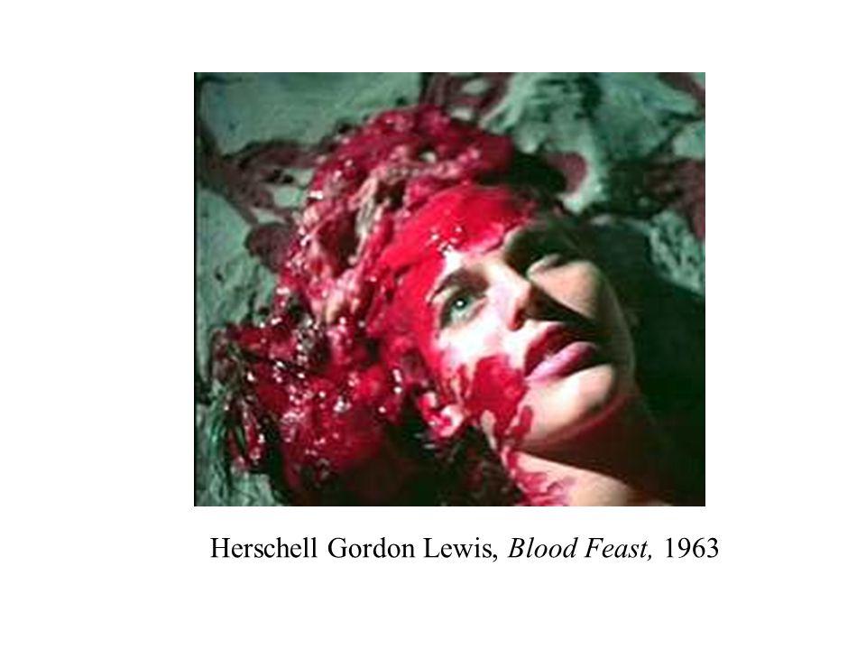 Herschell Gordon Lewis, Blood Feast, 1963
