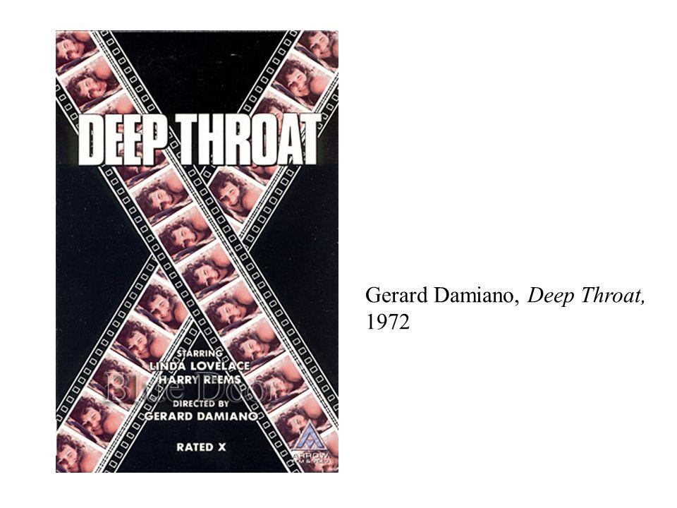 Gerard Damiano, Deep Throat, 1972