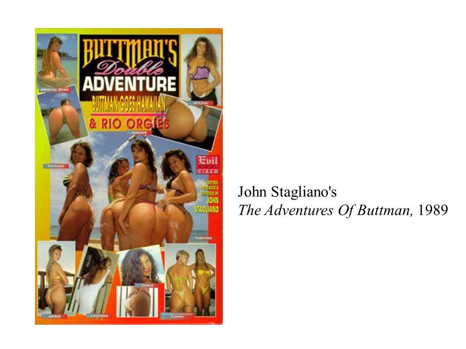 John Stagliano s The Adventures Of Buttman, 1989