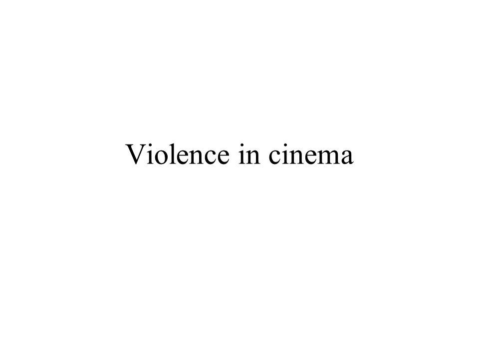 Violence in cinema