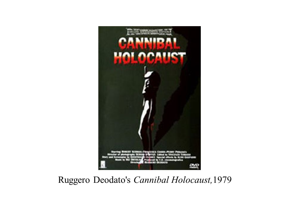 Ruggero Deodato's Cannibal Holocaust,1979