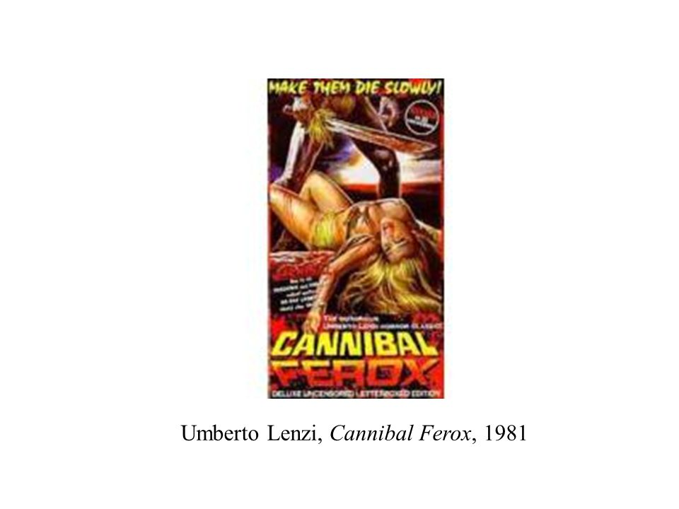 Umberto Lenzi, Cannibal Ferox, 1981