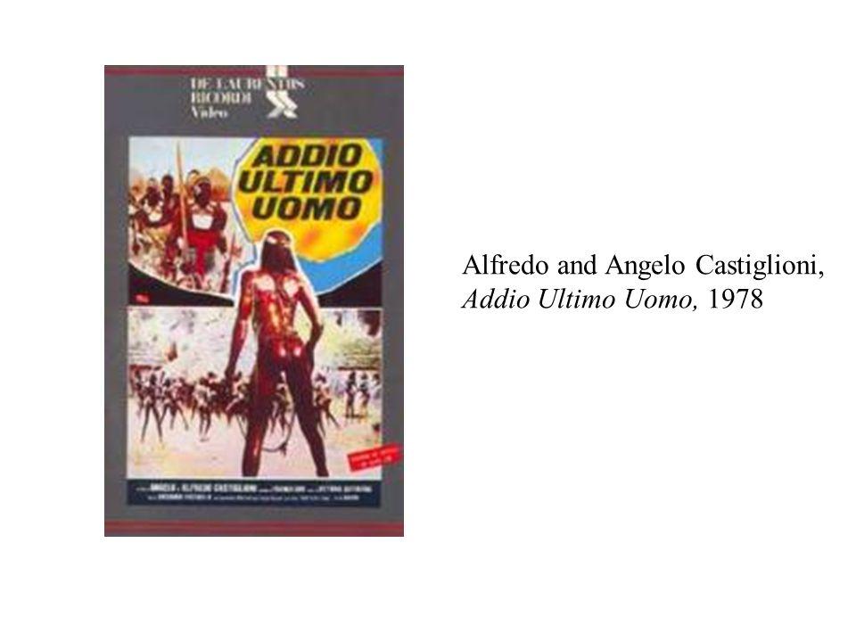 Alfredo and Angelo Castiglioni, Addio Ultimo Uomo, 1978