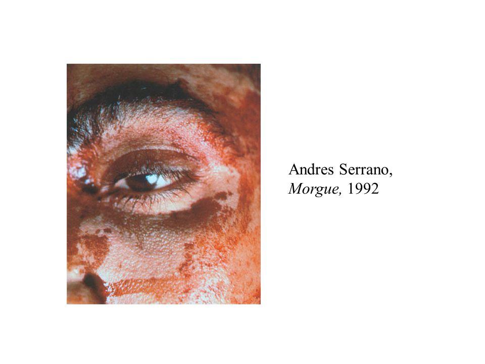 Andres Serrano, Morgue, 1992