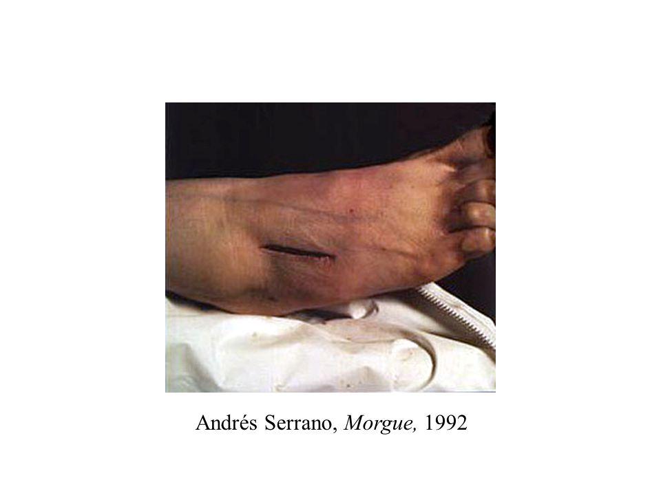 Andrés Serrano, Morgue, 1992