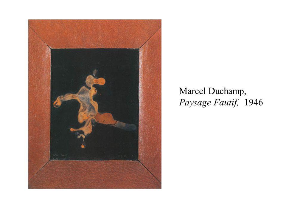 Marcel Duchamp, Paysage Fautif, 1946