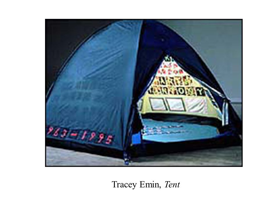 Tracey Emin, Tent