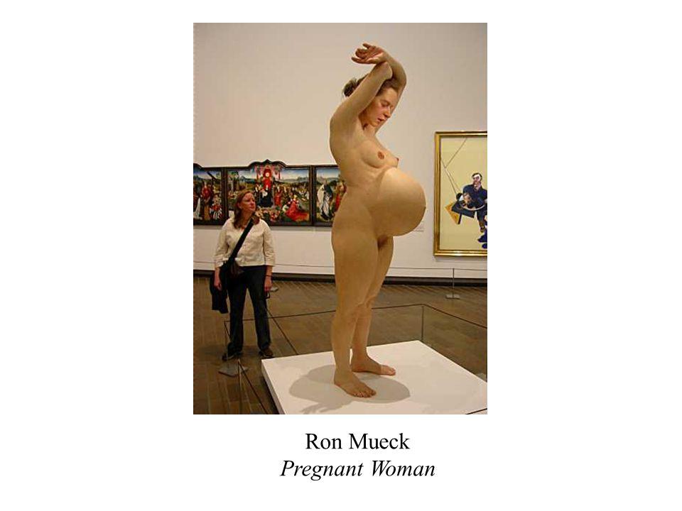 Ron Mueck Pregnant Woman