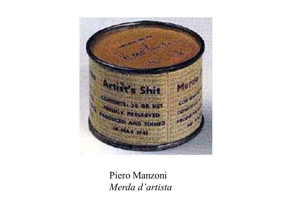 Piero Manzoni Merda d'artista