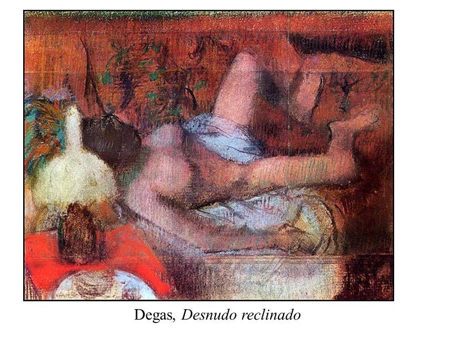 Degas, Desnudo reclinado