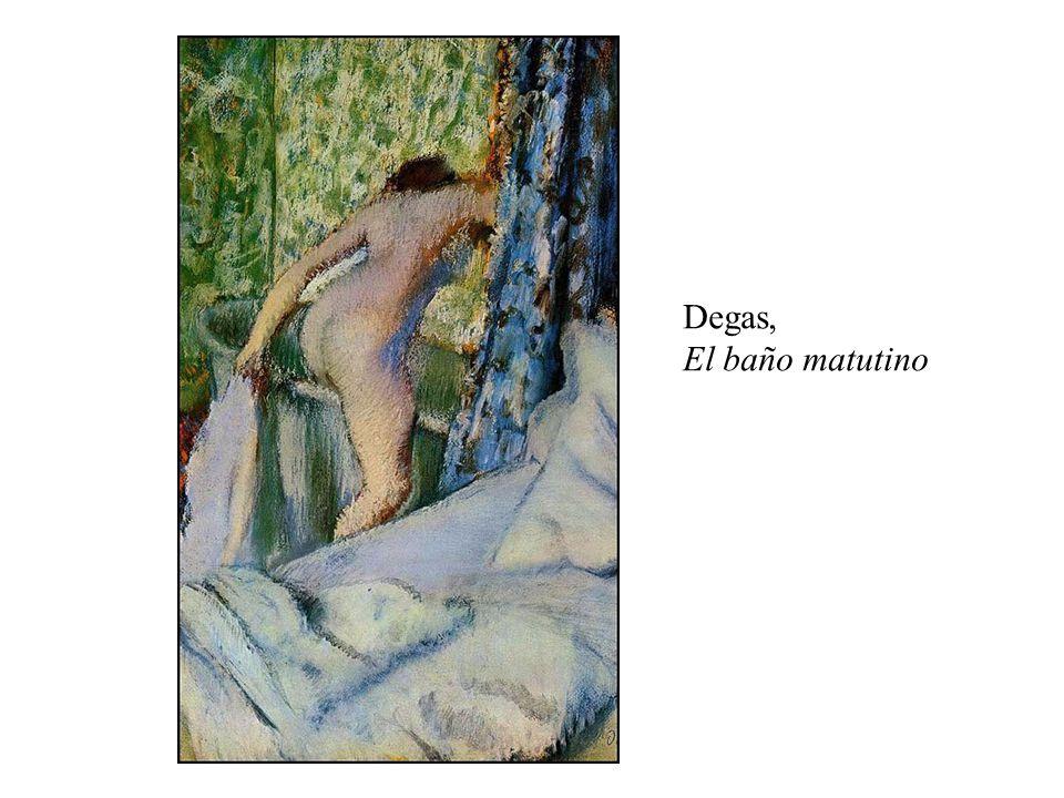Degas, El baño matutino
