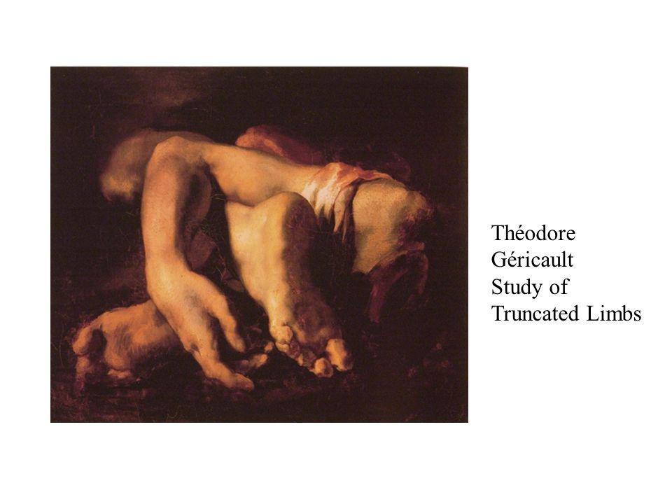 Théodore Géricault Study of Truncated Limbs
